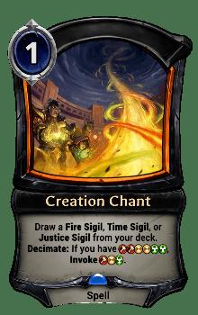 Creation Chant