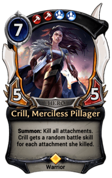 Crill, Merciless Pillager