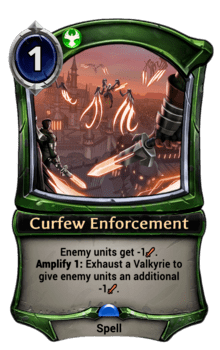 Curfew Enforcement