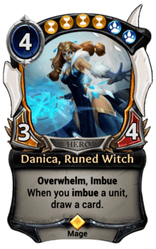 Danica, Runed Witch