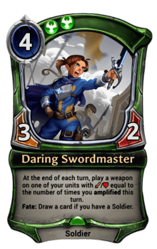Daring Swordmaster