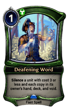 Deafening Word