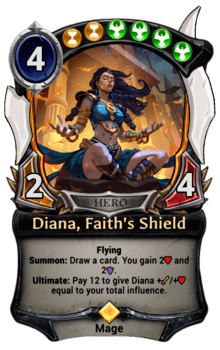 Diana, Faith's Shield