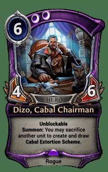 Dizo, Cabal Chairman
