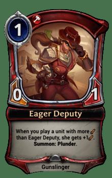Eager Deputy