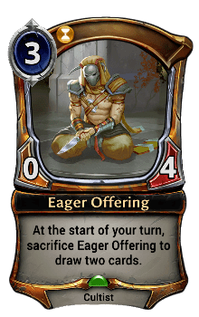 Eager Offering