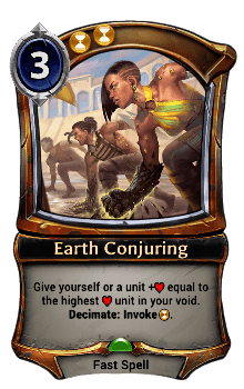 Earth Conjuring