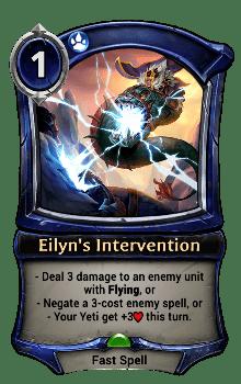 Eilyn's Intervention