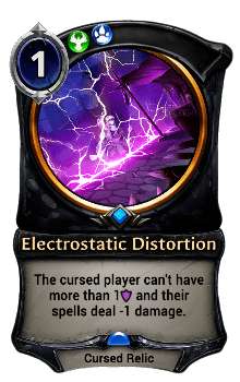 Electrostatic Distortion