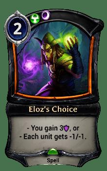 Eloz's Choice