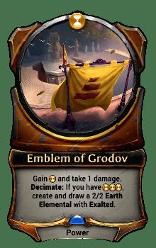 Emblem of Grodov