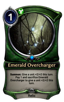 Emerald Overcharger
