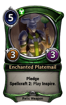 Enchanted Platemail