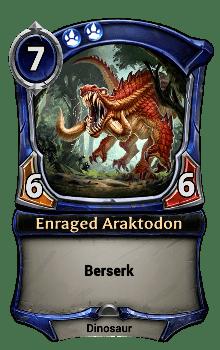 Enraged Araktodon