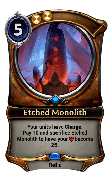 Etched Monolith