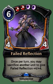 Failed Reflection