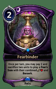 Fearbinder
