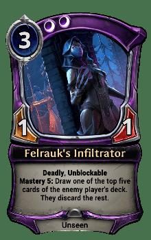 Felrauk's Infiltrator