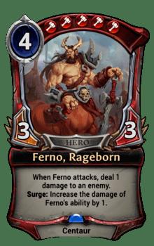 Ferno, Rageborn