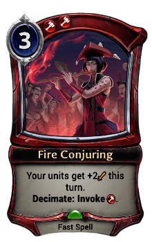 Fire Conjuring