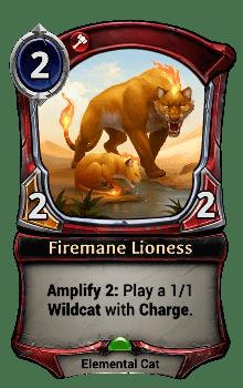 Firemane Lioness