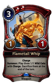 Flametail Whip