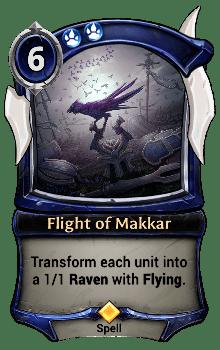 Flight of Makkar