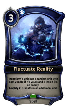 Fluctuate Reality