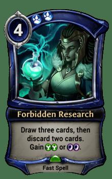 Forbidden Research