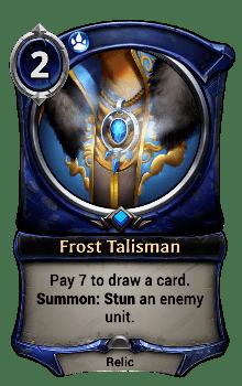Frost Talisman