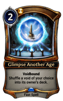 Glimpse Another Age
