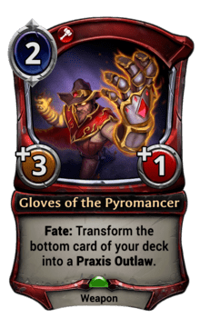 Gloves of the Pyromancer
