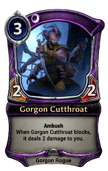 Gorgon Cutthroat