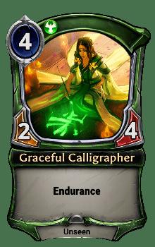Graceful Calligrapher
