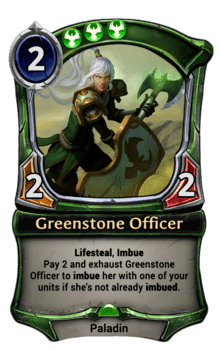 Greenstone Officer
