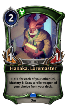 Hanaka, Loremaster