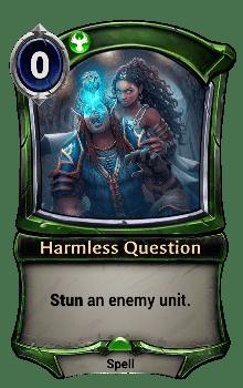 Harmless Question