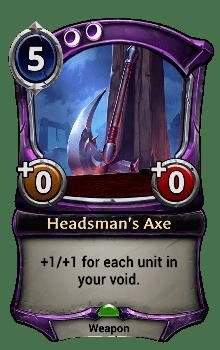 Headsman's Axe