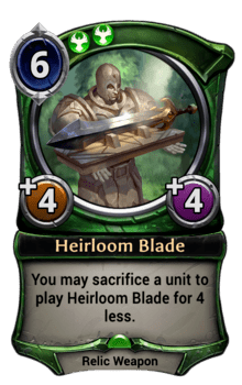 Heirloom Blade