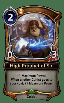High Prophet of Sol