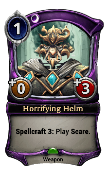 Horrifying Helm