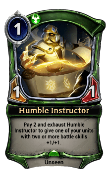Humble Instructor