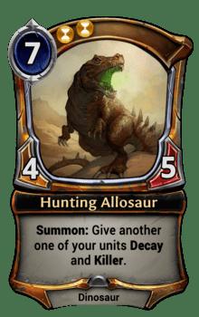 Hunting Allosaur
