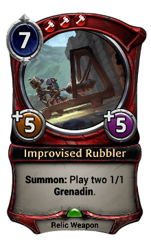 Improvised Rubbler