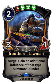 Ironthorn, Lawman