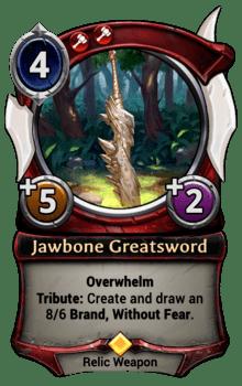 Jawbone Greatsword