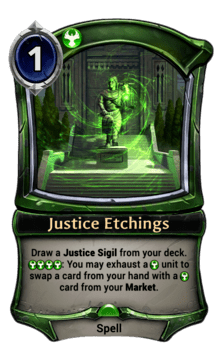Justice Etchings