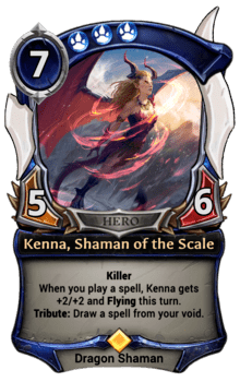 Kenna, Shaman of the Scale