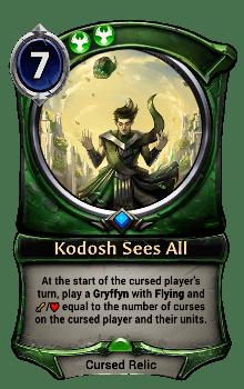 Kodosh Sees All