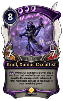 Krull, Xumuc Occultist